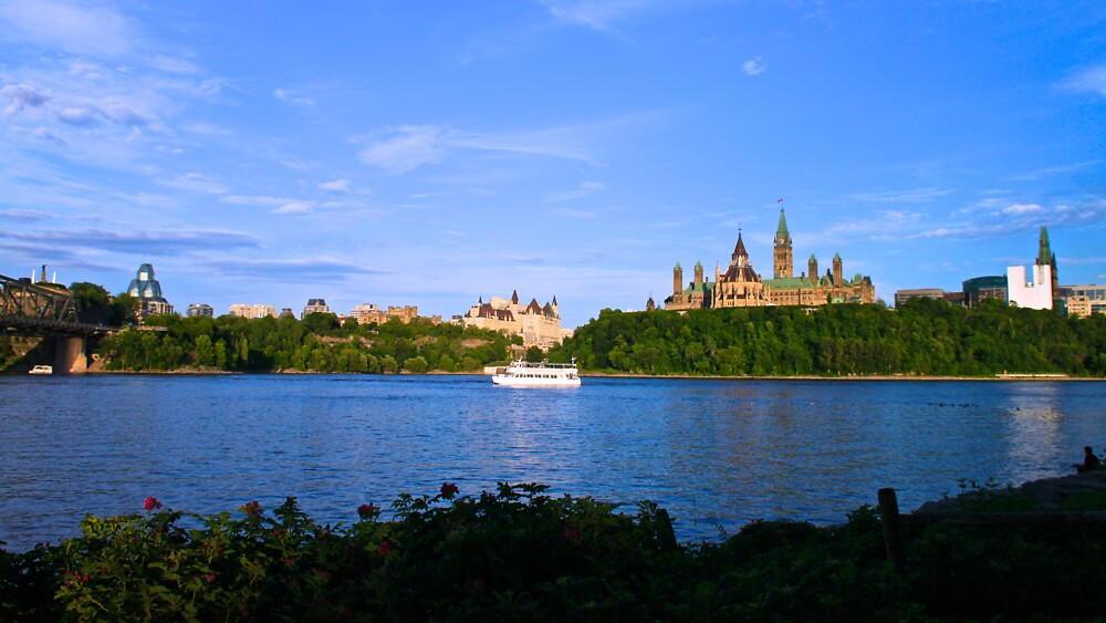 Canadian Parliament by Josef Pittner
