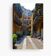 Milano Neighborhood Canvas Print