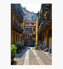Milano Neighborhood Photographic Print