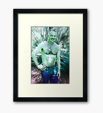 Peter Altered 2 Framed Print