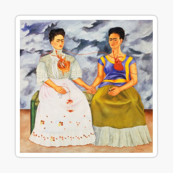 The two Fridas Sticker