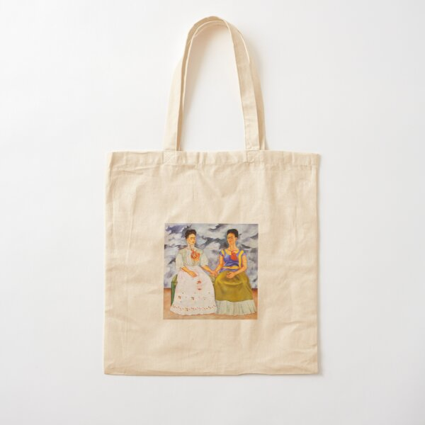 The two Fridas Cotton Tote Bag