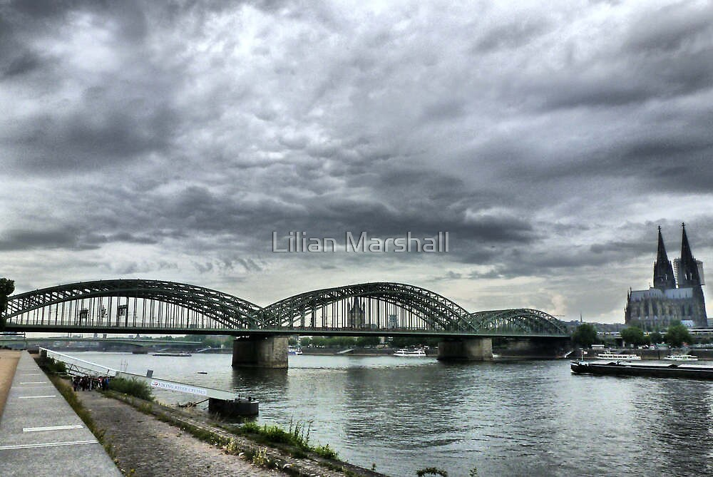 The Hohenzollen Bridge  by Lilian Marshall