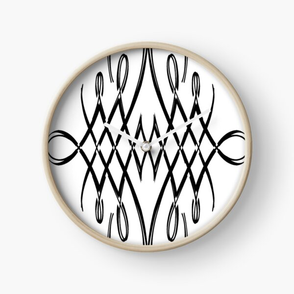 Pattern, design, tracery, weave, structure, framework, frame Clock