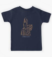 WeHadNoHorns - Lewis chessmen BIG Kids Tee