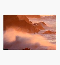 Ocean on Fire Photographic Print