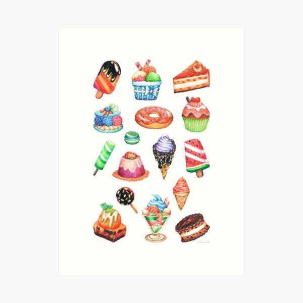 Dessert Paradise Art Print