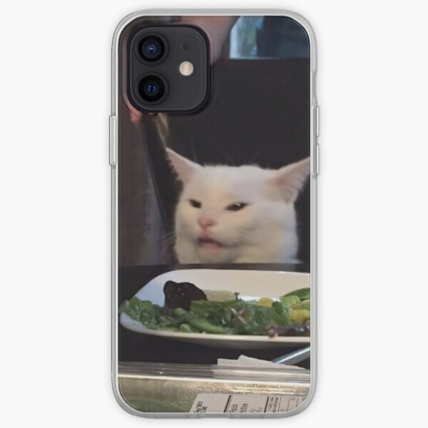 Yelled at Cat iPhone Soft Case