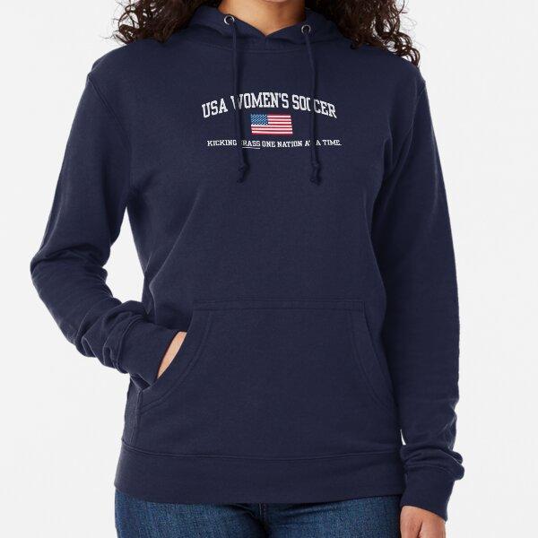 USA WOMEN'S SOCCER Lightweight Hoodie