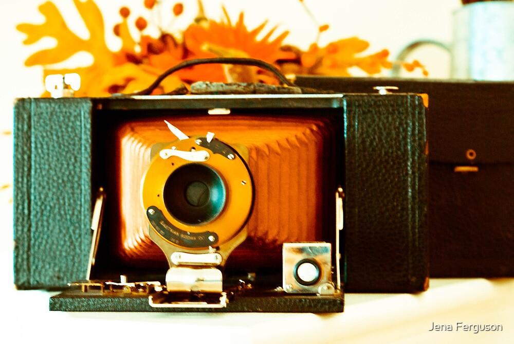 Kodak 3-A Folding Brownie by Jena Ferguson