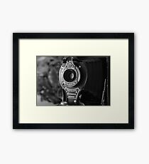 No.2 Folding Autographic Brownie Framed Print