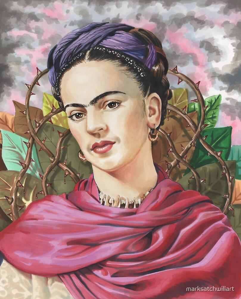 Frida by marksatchwillart