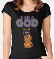Thanos  Women's Fitted Scoop T-Shirt