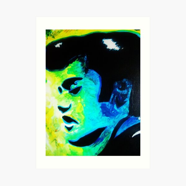 Pop Art Elvis Art Print
