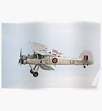 Fairey Swordfish II LS326 Poster