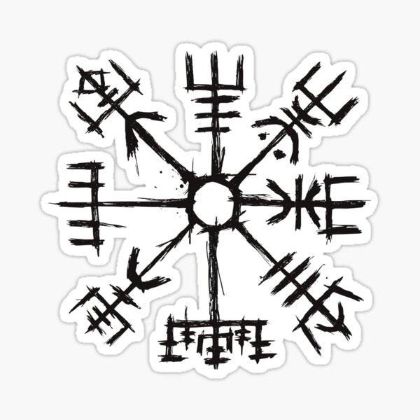 Viking Compass Vegvisir Sticker