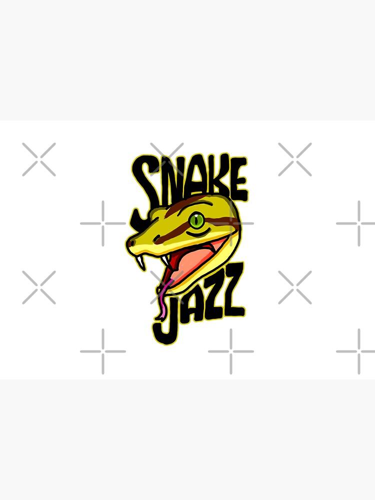 Snake Jazz Rick and Morty™ featuring Slippy the Snake from Season 4 by sketchNkustom