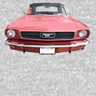 Red 66 Mustang by alastairc