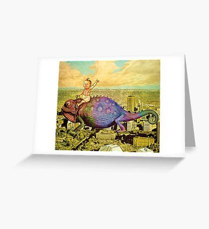 The Big Trip (landscape) Greeting Card
