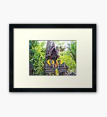 Melbourne Zoo Framed Print