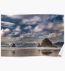 Canon Beach, Oregon, USA Poster