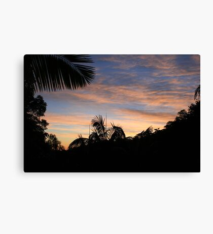 Dawn Over The Valley Canvas Print