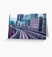 Tokyo - Aeon Flux Greeting Card