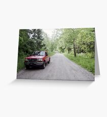 My picture taking truck! Greeting Card
