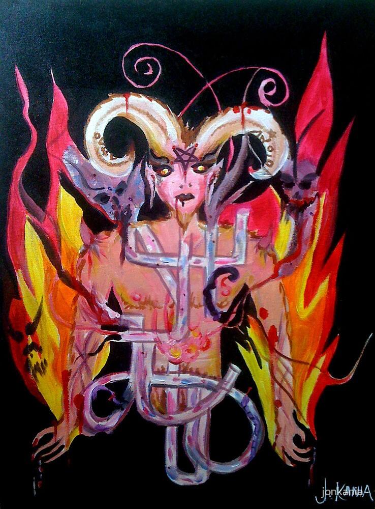 The Devil - My Witch Tarot Set by jonkania