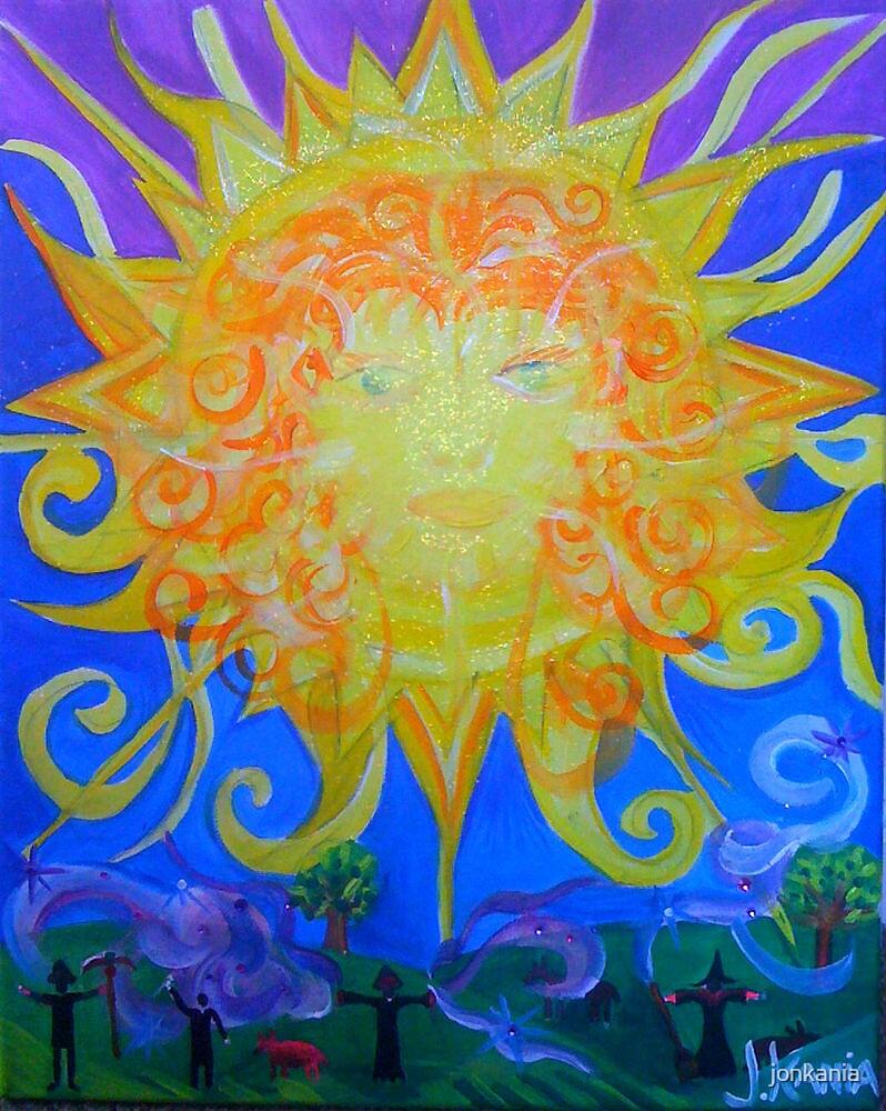The Sun - My Witch Tarot Set by jonkania