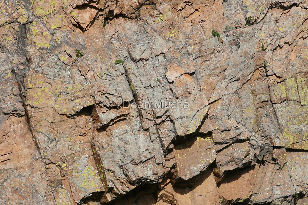 Weathered Rock by Dean Mucha