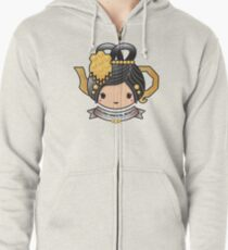 Oolong Oriental Beauty Teapot Zipped Hoodie