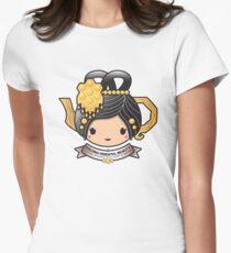 Oolong Oriental Beauty Teapot Women's Fitted T-Shirt