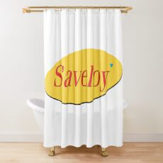 Saveloy' Shower Curtain