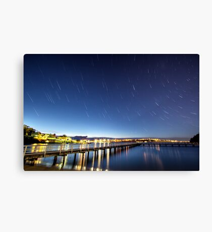 Under a Rotating Sky Canvas Print