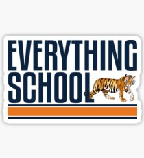 Everything School Sticker