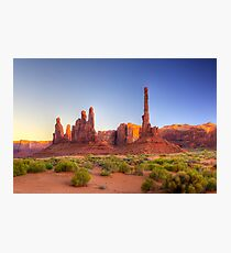 The Totem Pole (Monument Valley, Arizona) Photographic Print