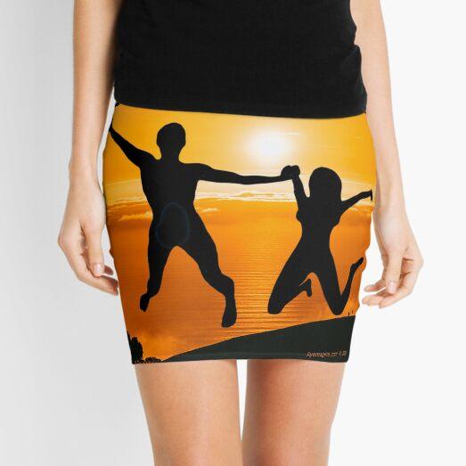 Happy Leap Year Mini Skirt