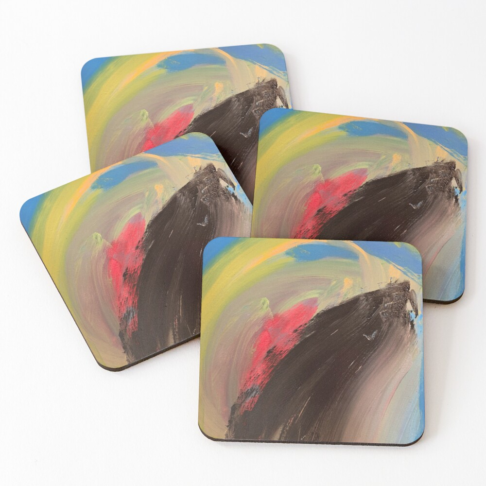 Love Might as Well Be An Ocean Away  Coasters (Set of 4)