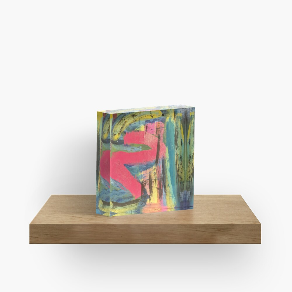 The Shimmering of Hope Acrylic Block