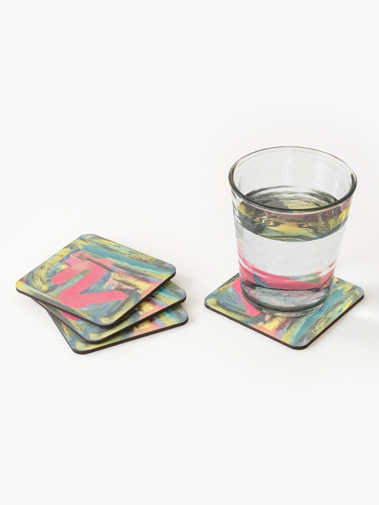 Alternate view of The Shimmering of Hope Coasters (Set of 4)