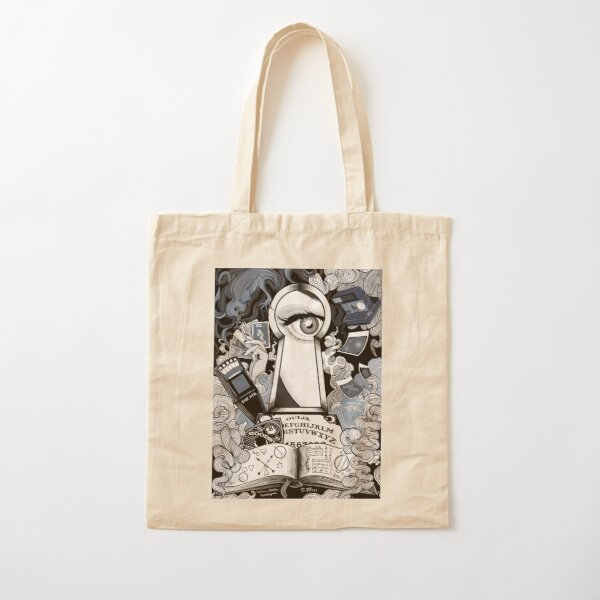 Welcome to the Paranormal World  Cotton Tote Bag