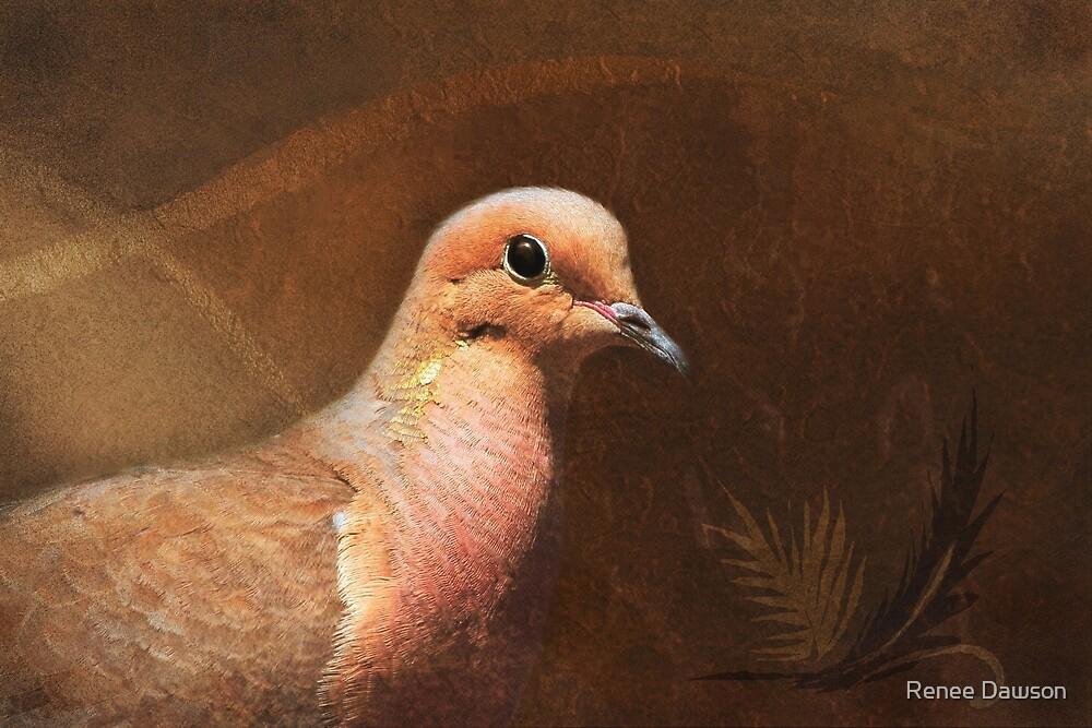 Portrait of a Dove by Renee Dawson