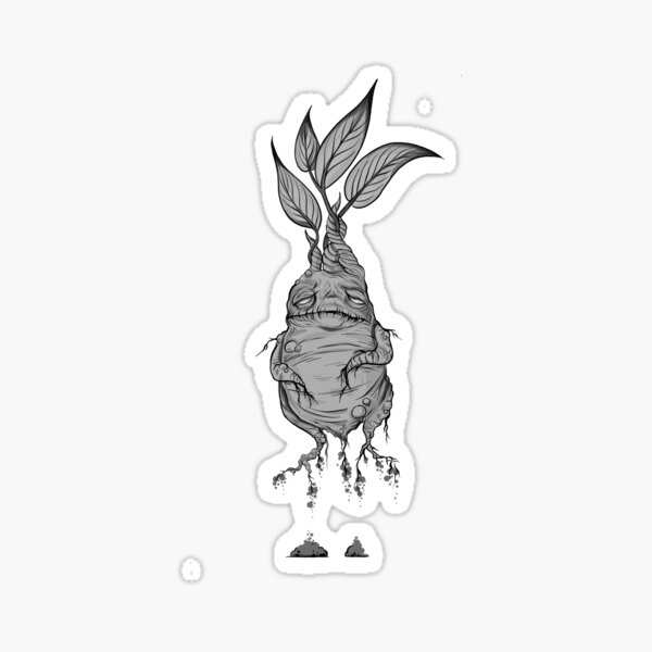 Mandrake  Sticker