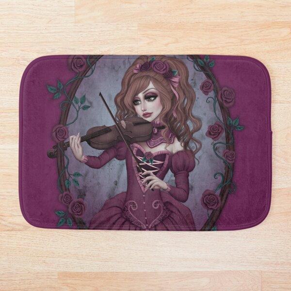 Rose Sonata Bath Mat