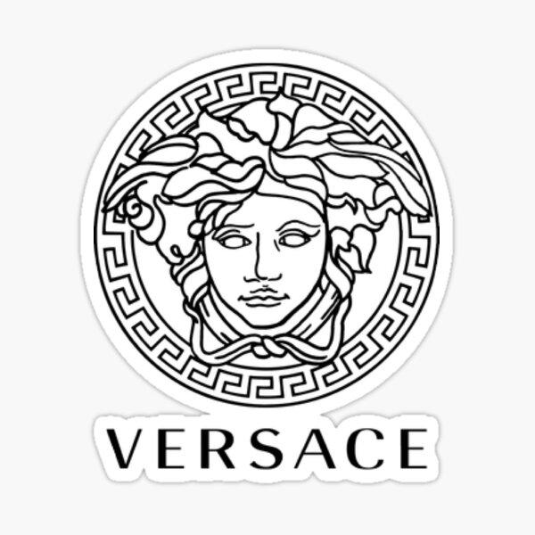 versace sticker Sticker