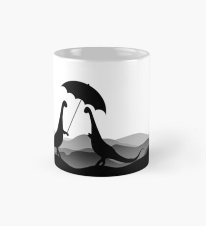 DINO LOVE UMBRELLA - Dinosaurs with Umbrella - Dino Collection Mug
