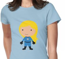 Cutie Invisible Woman - Fantastic Four Womens Fitted T-Shirt