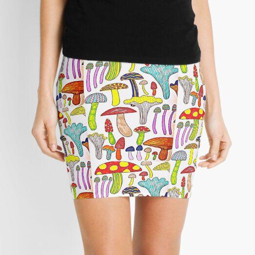 Colourful FUN-GUY Mini Skirt