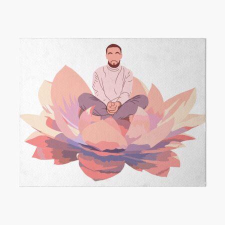 Good News Mac Lotus Art Board Print